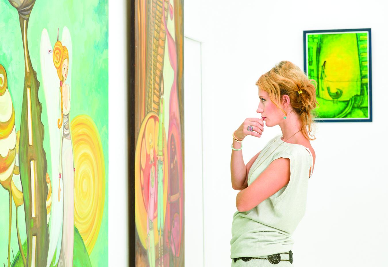 Comment acheter une œuvre d'art à la Route des ARTS