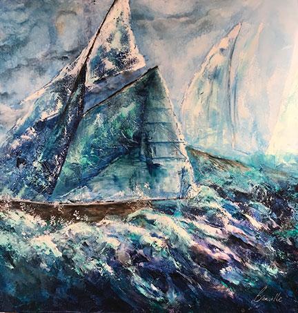 Artiste Géraldine Banville