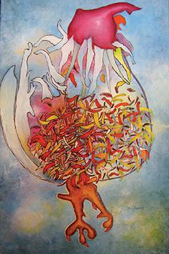 Marcel Charest, peinture Oka
