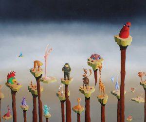 Jean Kazemirchuk, peinture Oka