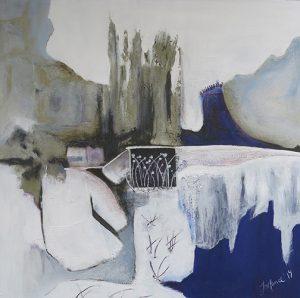Jeanne Mance Laplante, peinture, gravure Oka